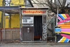 40 Einer steht auf dem Hof der Kulturbrauerei, einer an der Falckensteinstraße:Ecke Schlesische Straße in Kreuzberg