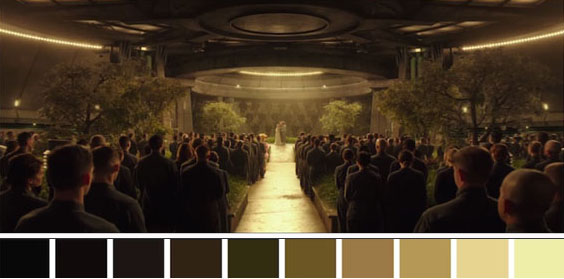 Hunger Games_Farb-Palette 1